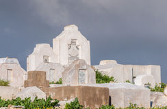 Ισλαμικό νεκροταφείο κοντά στην παλαιά πόλη του Fez στοκ εικόνες