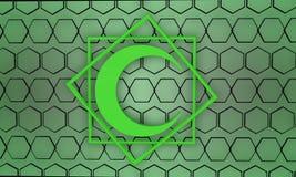Ισλαμικό σχέδιο, τρισδιάστατο ελεύθερη απεικόνιση δικαιώματος