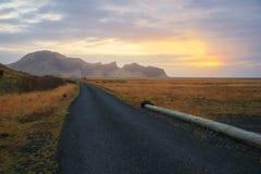 Ισλανδία & ανατολή στοκ φωτογραφίες με δικαίωμα ελεύθερης χρήσης