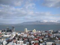 Ισλανδία Ρέικιαβικ στοκ εικόνες