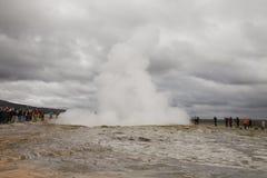 Ισλανδία - gayzer Στοκ φωτογραφίες με δικαίωμα ελεύθερης χρήσης
