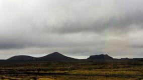 Ισλανδικές ορεινές περιοχές Στοκ Εικόνα