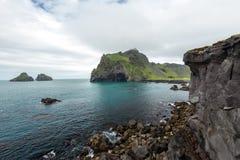 Ισλανδική ακτή Στοκ φωτογραφία με δικαίωμα ελεύθερης χρήσης