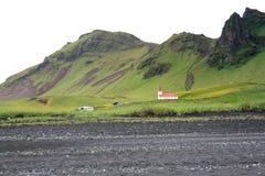 Ισλανδική πράσινη σειρά Στοκ εικόνες με δικαίωμα ελεύθερης χρήσης