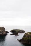 Ισλανδικοί ακτή και βράχοι Στοκ εικόνα με δικαίωμα ελεύθερης χρήσης
