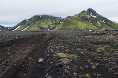Ισλανδικός άγριος εσωτερικός, ταξίδι κατά μήκος του ποταμού Markarfljot, πάγος Στοκ φωτογραφίες με δικαίωμα ελεύθερης χρήσης