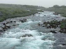 Ισλανδικός ποταμός Στοκ εικόνα με δικαίωμα ελεύθερης χρήσης