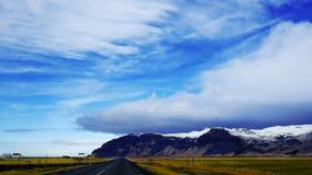 Ισλανδικός δρόμος Στοκ φωτογραφία με δικαίωμα ελεύθερης χρήσης