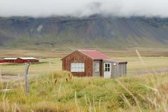 Ισλανδικό αγροτικό σπίτι στοκ εικόνα