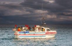 Ισλανδικό αλιευτικό σκάφος Στοκ Φωτογραφίες