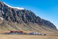 Ισλανδικό βουνό Στοκ φωτογραφία με δικαίωμα ελεύθερης χρήσης