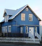 Ισλανδικό σπίτι Στοκ φωτογραφία με δικαίωμα ελεύθερης χρήσης