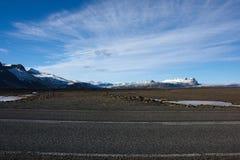 Ισλανδικό τοπίο βουνών στοκ φωτογραφίες