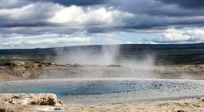Ισλανδικό geyser Στοκ Εικόνες