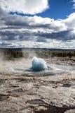 Ισλανδικό geyser Στοκ εικόνα με δικαίωμα ελεύθερης χρήσης