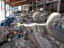Ιταλία, λιμένας αλιείας Civitavecchia στοκ φωτογραφία
