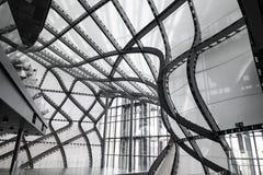 Ιταλία Ρώμη 14 Απριλίου 2018 Σύγχρονο κτήριο αρχιτεκτονικής σύννεφων Στοκ Εικόνες
