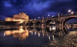 Ιταλία Ρώμη Angelo castel sant Στοκ εικόνα με δικαίωμα ελεύθερης χρήσης