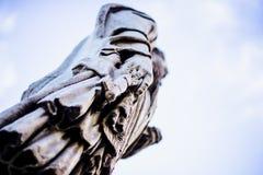 Ιταλία, Ρώμη, Castel Sant ` Angelo, άγαλμα του ST Peter Στοκ φωτογραφίες με δικαίωμα ελεύθερης χρήσης