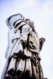 Ιταλία, Ρώμη, Castel Sant ` Angelo, άγαλμα του ST Peter Στοκ εικόνα με δικαίωμα ελεύθερης χρήσης