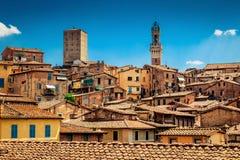 Ιταλία Σιένα Τοσκάνη Στοκ εικόνες με δικαίωμα ελεύθερης χρήσης