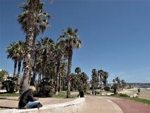 Ιταλία, το μέτωπο θάλασσας Civitavecchia στοκ φωτογραφία με δικαίωμα ελεύθερης χρήσης
