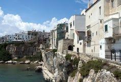 Ιταλία vieste Στοκ εικόνα με δικαίωμα ελεύθερης χρήσης