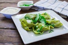 ιταλικά ζυμαρικά πιάτων Στοκ Εικόνες