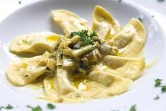 ιταλικά ζυμαρικά πιάτων Στοκ Φωτογραφίες