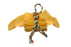ιταλικά ζυμαρικά σημαιών στοκ φωτογραφίες