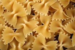 Ιταλικά ζυμαρικά farfale Στοκ Φωτογραφίες