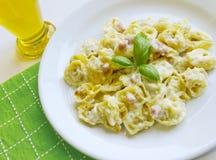 Ιταλικά ζυμαρικά Tortellini Στοκ φωτογραφία με δικαίωμα ελεύθερης χρήσης