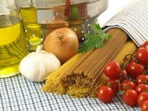 ιταλικά μακαρόνια πιάτων στοκ εικόνα με δικαίωμα ελεύθερης χρήσης