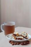 Ιταλικά μπισκότα cantuccini Στοκ φωτογραφία με δικαίωμα ελεύθερης χρήσης