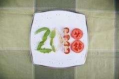 2018 ιταλικά τρόφιμα στοκ φωτογραφία