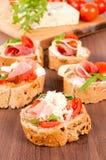 Ιταλικά τρόφιμα Στοκ Φωτογραφίες