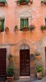 ιταλικά Windows της Ουμβρίας Στοκ φωτογραφίες με δικαίωμα ελεύθερης χρήσης