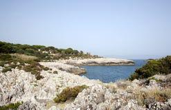 Ιταλική ακτή Cilento στοκ φωτογραφίες με δικαίωμα ελεύθερης χρήσης