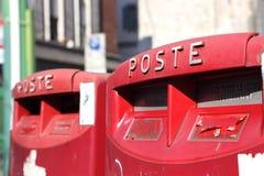 ιταλική θέση κιβωτίων Στοκ φωτογραφία με δικαίωμα ελεύθερης χρήσης