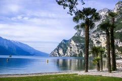 Ιταλική λίμνη λιμνών Garda πανοραμική Στοκ Φωτογραφία
