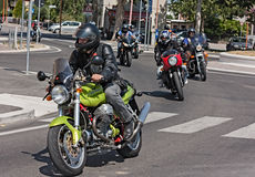 Ιταλική μοτοσικλέτα Στοκ Εικόνες
