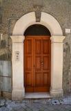 Ιταλική μπροστινή πόρτα Στοκ εικόνες με δικαίωμα ελεύθερης χρήσης