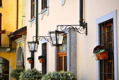 ιταλική οδός σκηνής Στοκ φωτογραφίες με δικαίωμα ελεύθερης χρήσης