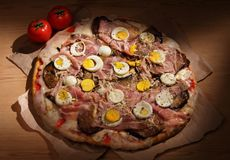 ιταλική πίτσα στοκ εικόνες