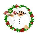 ιταλική πίτσα απεικόνιση αποθεμάτων
