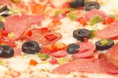 ιταλική πίτσα Στοκ εικόνα με δικαίωμα ελεύθερης χρήσης