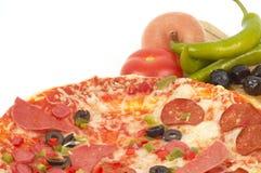 ιταλική πίτσα Στοκ εικόνες με δικαίωμα ελεύθερης χρήσης