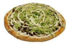 ιταλική πίτσα Πίτσα Kebab Πίτσα Doner Πίτσα σαλάτας Στοκ Εικόνες
