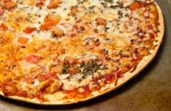 ιταλική πίτσα margherita παραδοσιακή Στοκ φωτογραφία με δικαίωμα ελεύθερης χρήσης
