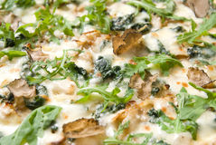 ιταλική πίτσα truffels στοκ φωτογραφίες